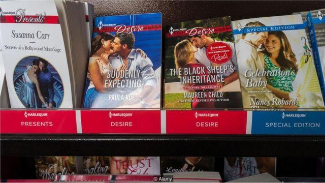 साहित्य, रोमांटिक नोवल, ई-बुक्स