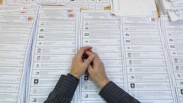 Списки голосования, Россия