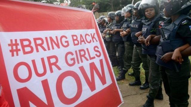 فتيات تشيبوك النيجيرية