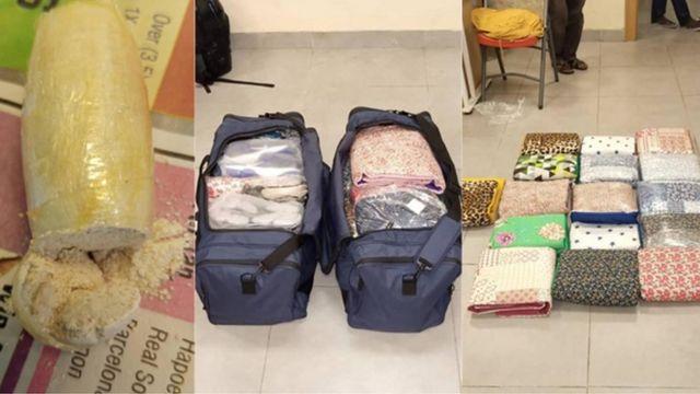 Onyejegbu Ifesinachi Jennifer: NDLEA catch woman wit 'cocaine' for Lagos International Airport