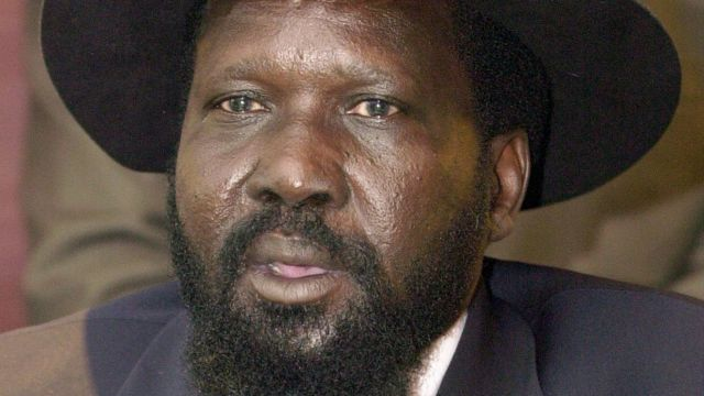 Riek Machar ne mataimakin Salva Kiir