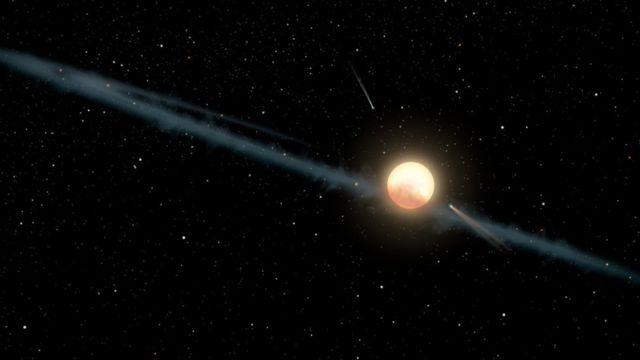 Ilustração da KIC 8462852