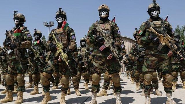 Afgan ordusunda kadın askerler de eğitim alıyor