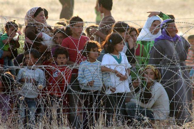 Pengungsi Suriah.