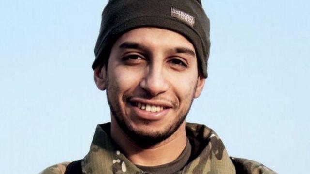 パリ連続襲撃の首謀者とされているアブデルハミド・アバウード容疑者