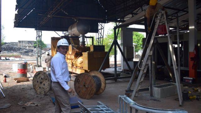 Ingeniero en Puerto Carreño