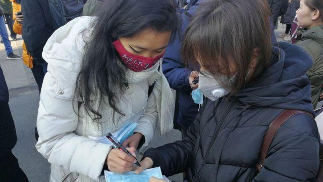 Экологическая акция в Бишкеке