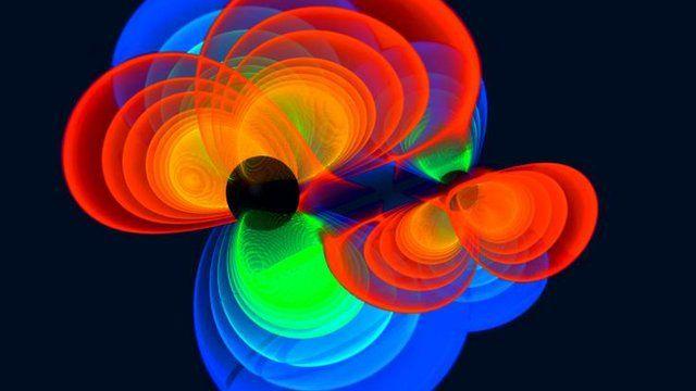 Simulation of gravitational waves