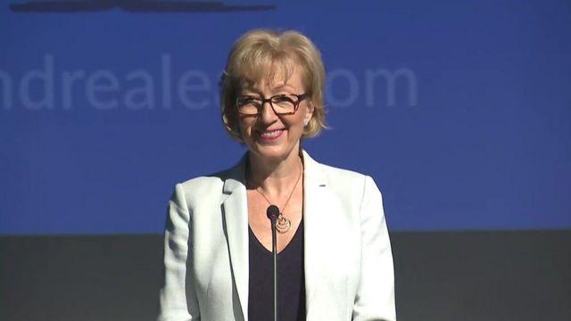 Conservative leadership hopeful Andrea Leadsom