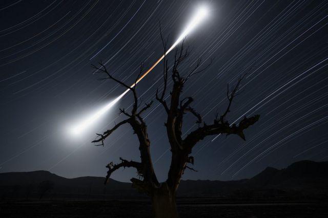 '월식을 따라(Eclipsed Moon Trail)'