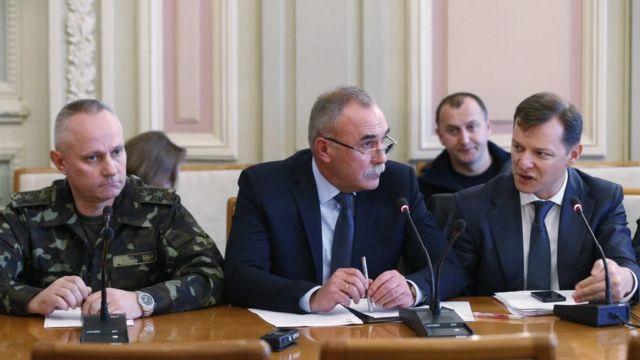 Руслан Хомчак, Сергій Яровий та Олег Ляшко