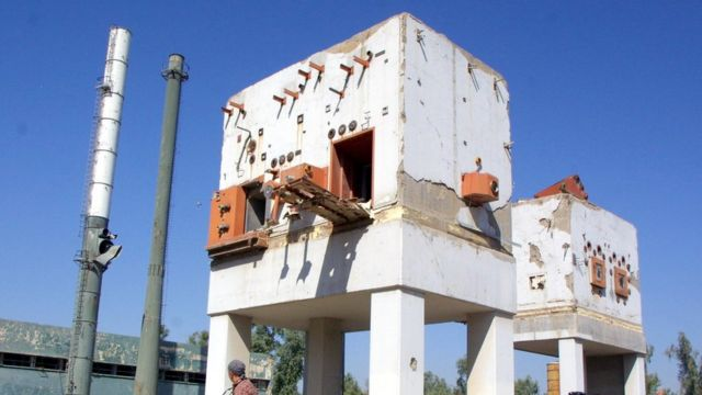 بقايا مفاعل تموز - عام 2002