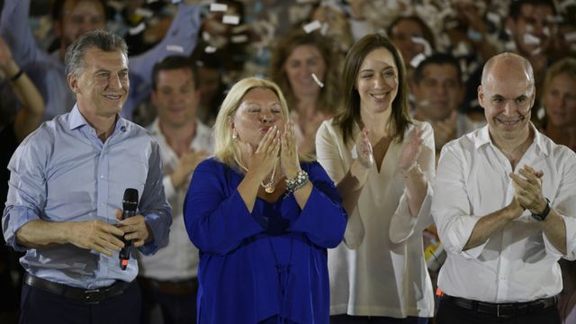 Macri y sus aliados