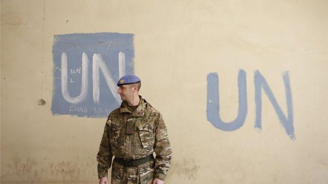 Soldado de la ONU en Chipre