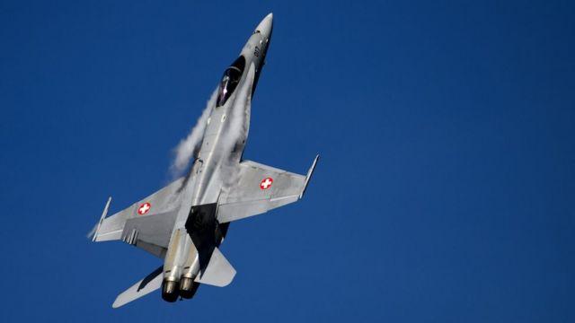 F/A 18 ВВС Швейцарии