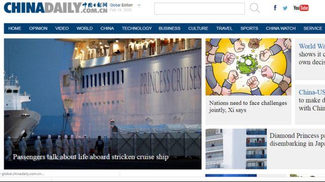 """""""China Daily"""" được đánh giá là công cụ tuyên truyền bằng tiếng Anh của chính quyền Trung Quốc"""