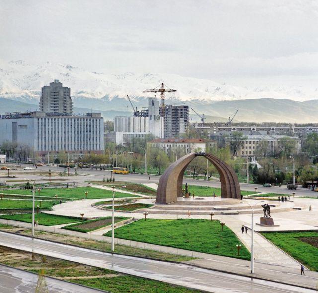 Фрунзе в 1987 году