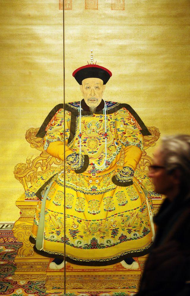 乾隆皇帝画像展览