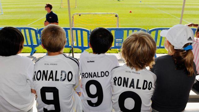 Fanáticos de Cristiano Ronaldo