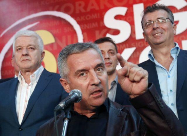 رئيس وزراء جمهورية الجبل الأسود ميلو ديوكانوفيتش