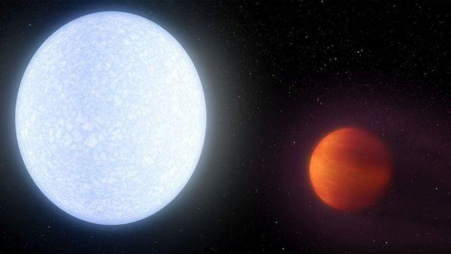 El planeta KELT-9b