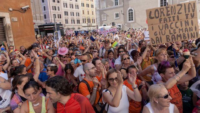protest u Rimu