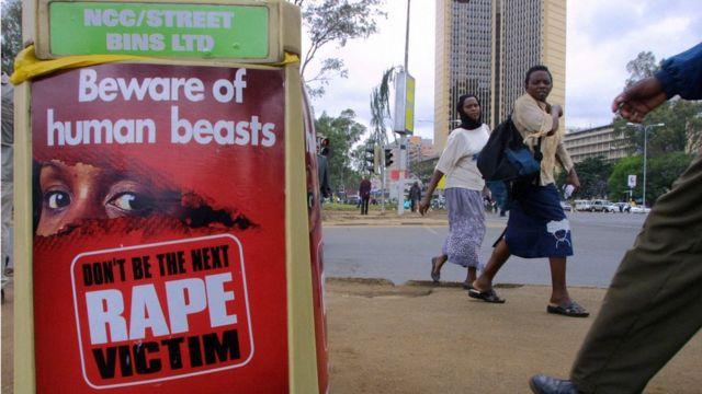 Domestic violence campaign.