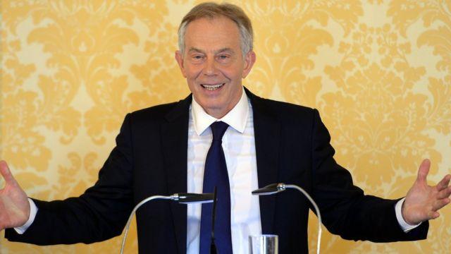 Uwari umushikiranganji w ambere wa Tony Blair yisobanuye