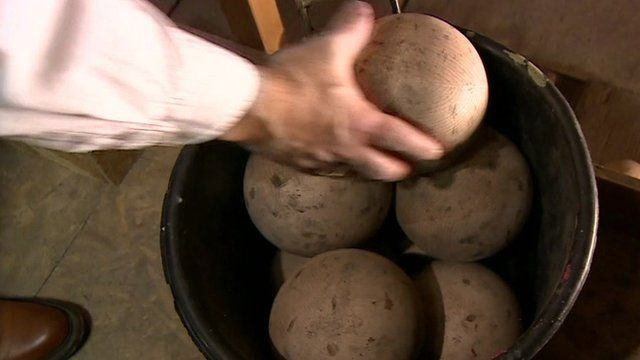 Balls in a bucket