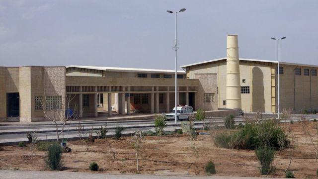 Central de enriquecimento de urânio na cidade iraniana de Natanz