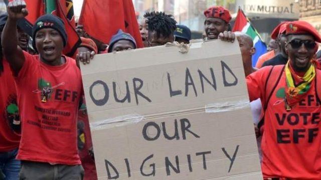 La terre est une question très sensible en Afrique du Sud