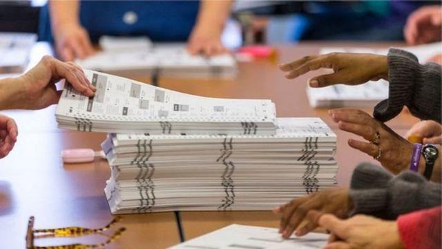 အမေရိကန်ရွေးကောက်ပွဲ ရလဒ်ပြန်ရေတွက်ဖို့