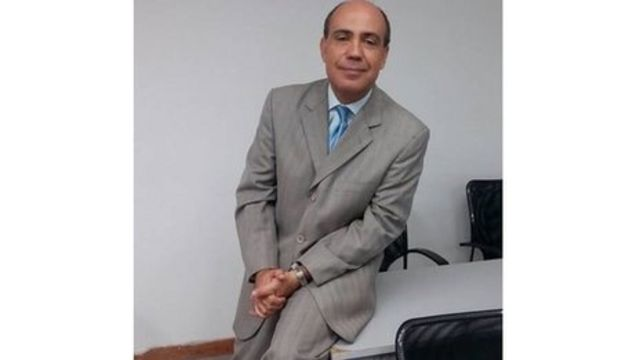 Zerpa Aponte es profesor de derecho penal y formador de fiscales en Venezuela.