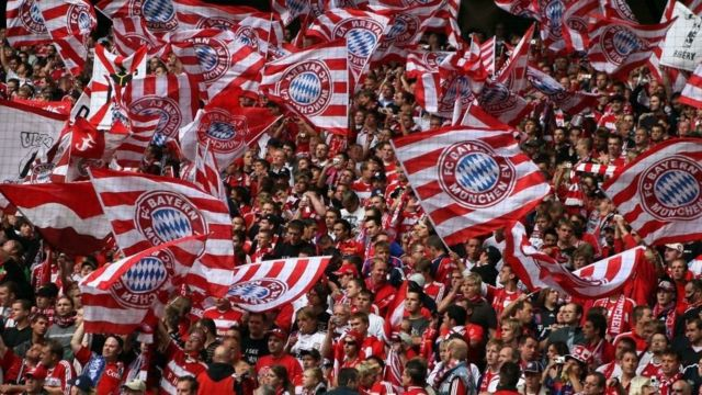 Torcedores do Bayern de Munique