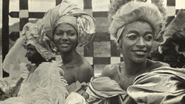 Zezé Motta como Chica da Silva em filme de Cacá Diegues, em 1976