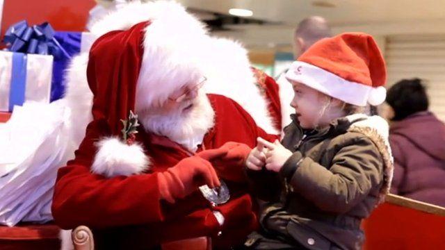 Santa and Mali