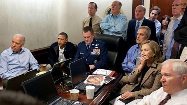 हिलेरी क्लिंटन और बराक ओबामा