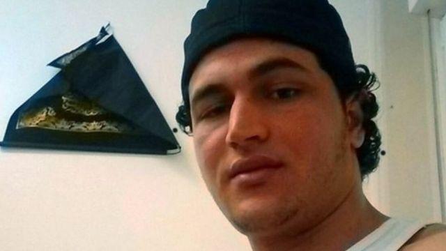 Image d'archives de Anis Amri, un Tunisien de 23 ans, suspect de l'attentat du 19 décembre à Berlin