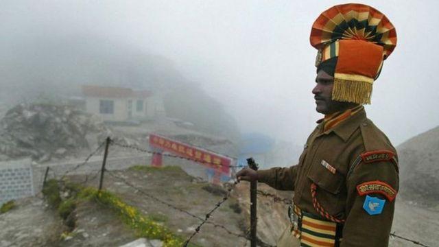Người lính Ấn Độ tại vùng biên giới bị tranh chấp