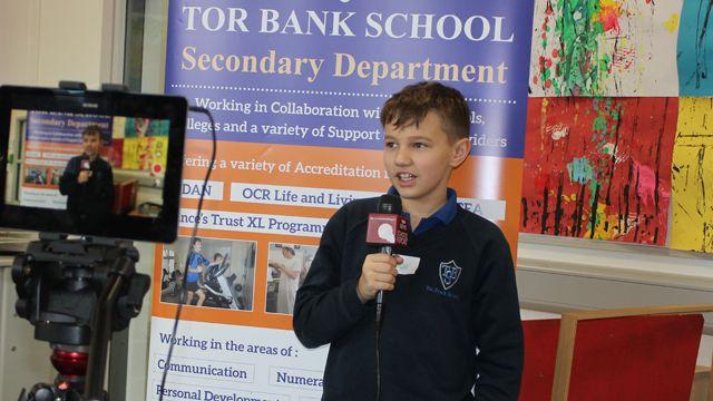 Tor Bank school reporters