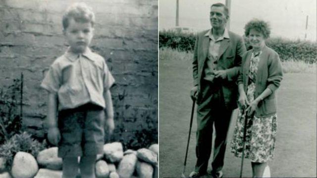 로빈은 네 살 반의 나이에 프레드와 엘시 킹 부부에게 입양됐다