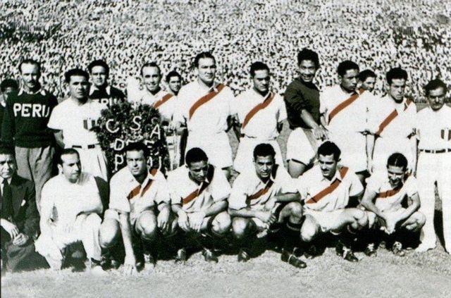 Perú campeona de la Copa América en 1939.