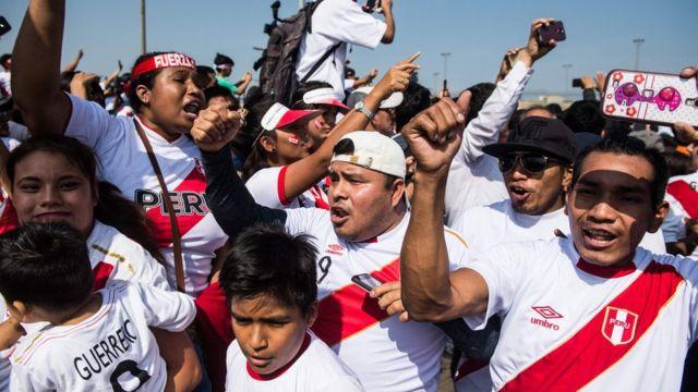 Aficionados peruanos