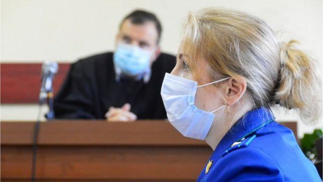 Прокурор Людмила Судакова и судья Сергей Васильков