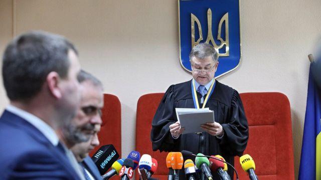 Суддя зачитує вирок у справі щодо ДТП у Харкові