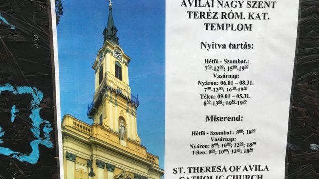 Nhà thờ Nữ tháng Theresa, Budapest
