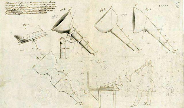 Diseños de la patente de Scott de 1857