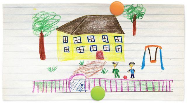 Рисунок. Детский дом