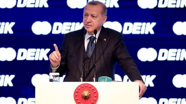 Cumhurbaşkanı Recep Tayyip Erdoğan, DEİK konuşması