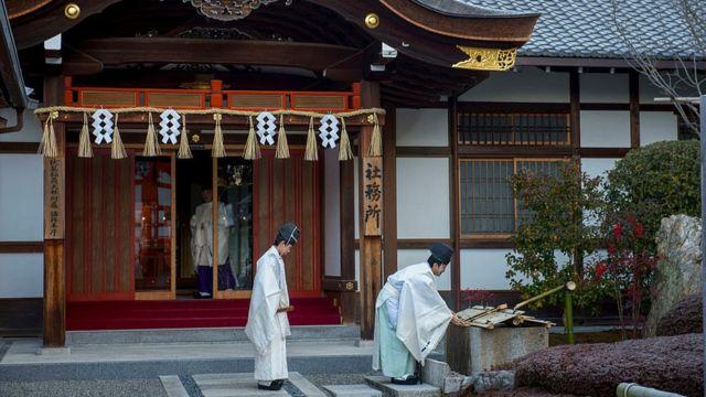 神道は日本の文化的アイデンティティーの重要な位置を占める